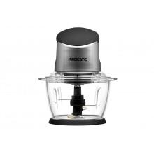 Блендер измельчитель Ardesto 400 Вт с чашей 1л лучший домашний кухонный измельчитель черный CHK4001BR