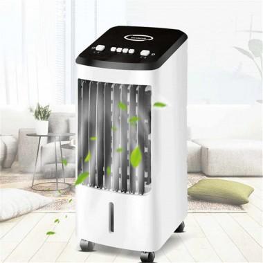 Мини кондиционер вентилятор 4 в 1 Gold Diamond для комнаты мобильный напольный без воздуховода для квартиры увлажнитель переносной охладитель воздуха для дома Air Cooler TK-000-26