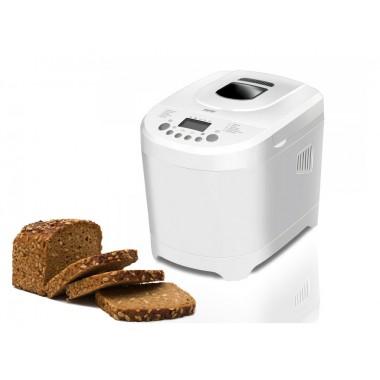 Хлебопечка MPM лучшая домашняя хлебопечь с замесом на 12 программ для полезного простого и вкусного хлеба. Белая MUC01W