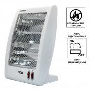 Обогреватель инфракрасный Rotex 800 Вт лучший электрический кварцевый экономный для дома белый RAS15HW