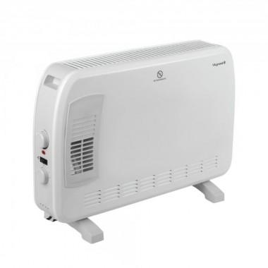 Обогреватель конвектор с турборежимом электрический Vilgrand 2000 Вт экономный для дома тепловентилятор белый VCH7133TRW