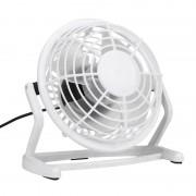 Вентилятор настольный маленький бесшумный мини юсб тихий Airflow White портативный USB FL092001