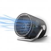 Вентилятор настольный CoolEngine портативный маленький бесшумный мини юсб тихий USB Черный KWMF100