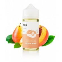 Премиум жидкость для электронных сигарет WES Peach Bomb 100 мл 3 мг