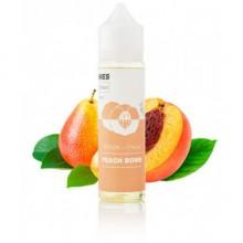 Премиум жидкость для электронных сигарет WES Peach Bomb 60 мл 3 мг