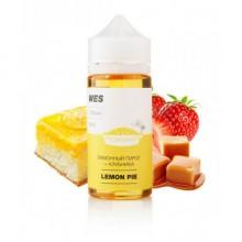 Премиум жидкость для электронных сигарет WES Lemon Pie 100 мл 3 мг