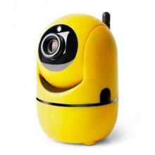 Радионяня Unitoptek с датчиком движения и камерой Yellow