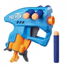 Бластер NERF Nano Fire Голубой