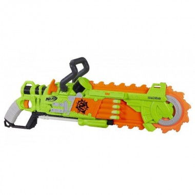 Бластер NERF Zombie Strike Brainsaw Зеленый
