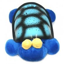 Музыкальный ночник-проектор Snail Twilight с USB-кабелем Blue