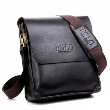 Мужская сумка POLO Videng Classic Коричневая