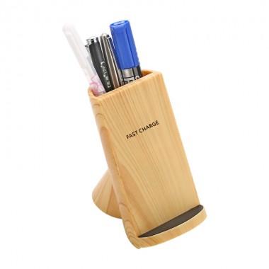 Беспроводная зарядка WoodbooD Wireless Charge Premium Holder