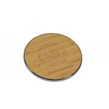 Беспроводная зарядка WoodbooD Wireless Charge Smart Silver