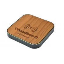 Беспроводная зарядка WoodbooD Wireless Charge Standart Black
