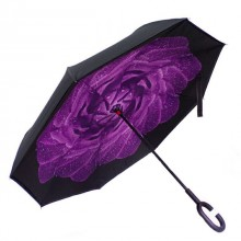 Зонт обратного сложения Vip-brella Азалия Фиолетовая роса