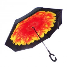Зонт обратного сложения Vip-brella Георгин Огненный