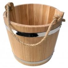Ведро для бани и сауны дубовое BonRomProm 15 л.