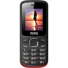 Мобильный телефон TOTO A1 Black/Red