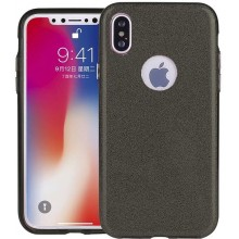 Чехол-накладка TOTO TPU Case Rose series 3 IN 1 iPhone X Black