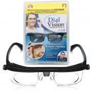 Очки лупа с регулировкой линз увеличительные Dual Vision Professional Black 16201