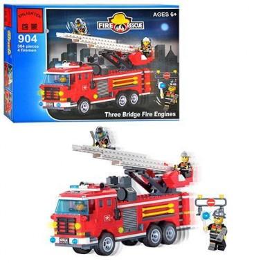 Конструктор Пожарная тревога. 466 деталей. BRICК 500904