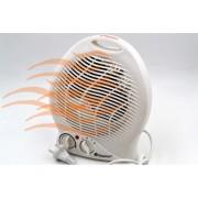 Обогреватель DOMOTEC 2000 Вт - лучший электрический тепловентилятор для дома. Экономная дуйка для квартиры и офиса. DOMOTEC MS5902W Белый
