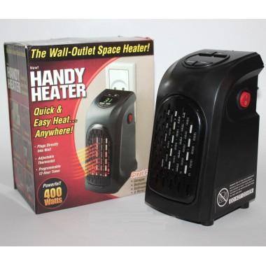 Обогреватель тепловентилятор мини дуйка керамический Handy Heater HH400 Черный 400W