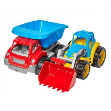 Набор для песочницы Стройтехника - машинка самосвал и экскаватор Technokom  T3459