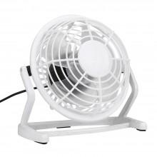 Мини вентилятор настольный бесшумный Airflow USB портативный маленький юсб Белый CD816
